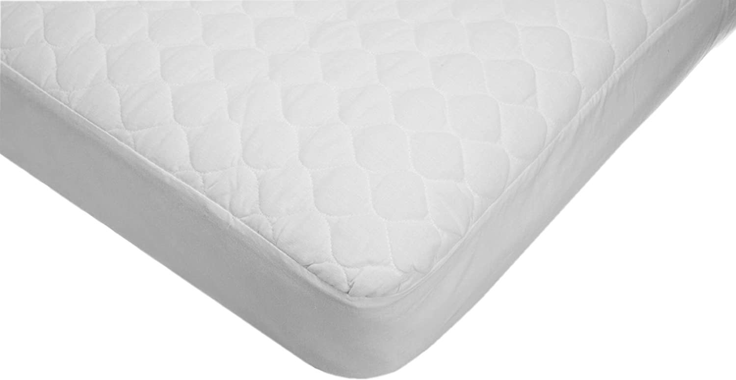 American Baby Company Extra Durable Waterproof Quilted Cotton Crib and Toddler Mattress Pad Cover