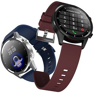 Bakeey F35 Dual UI Display Heart Rate Blood Pressure Oxygen Monitor Music Control Custom Dial Weather Display Smart Watch