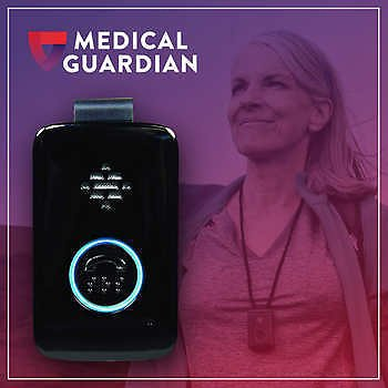 On-The-Go Medical Alert with Two-Way Communication, Includes 3 Months of Service