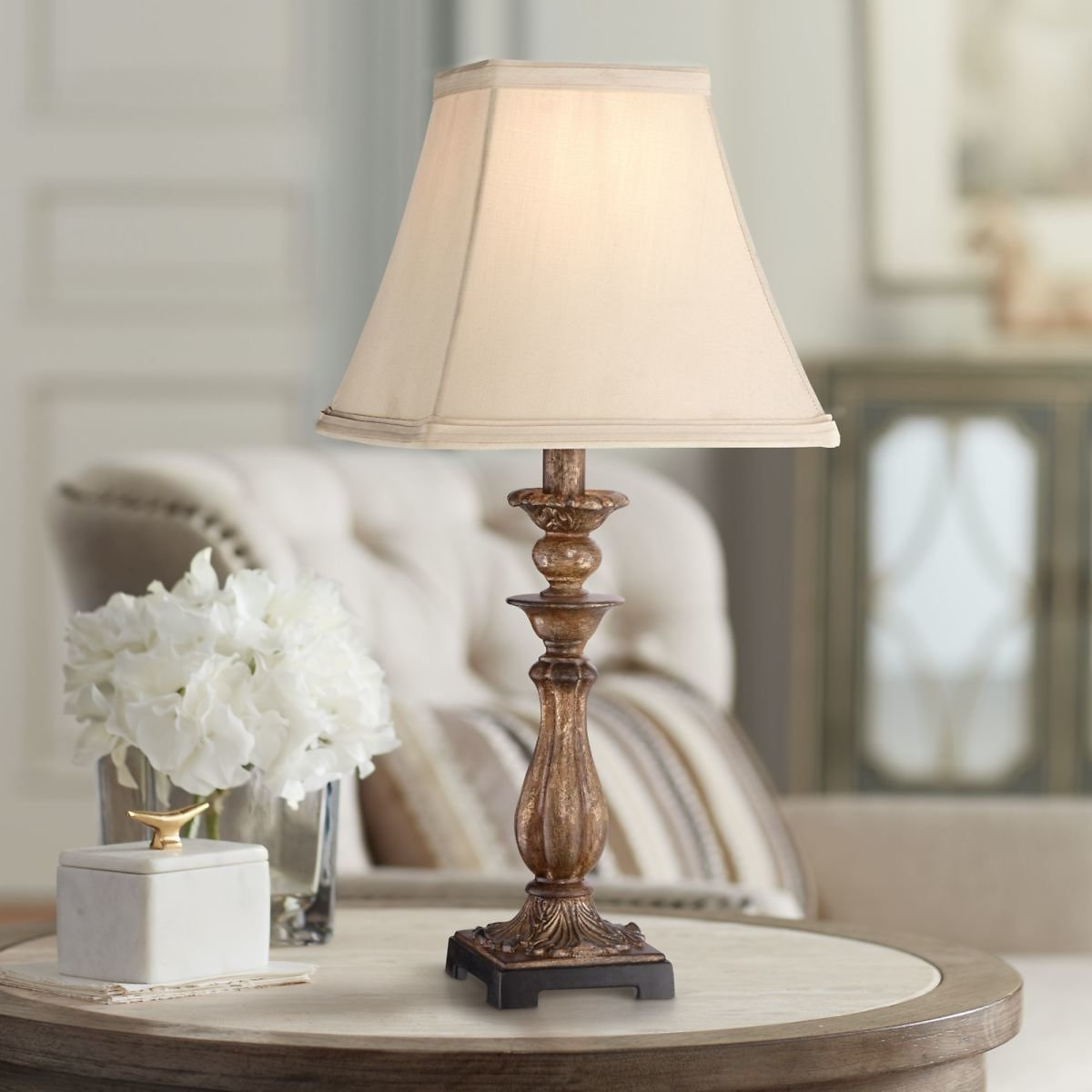 Regency Hill Cottage Accent Table Lamp