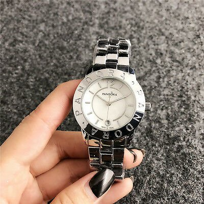 2020 New Women Pandos Watch Lady Steel Quartz Models Wristwatch