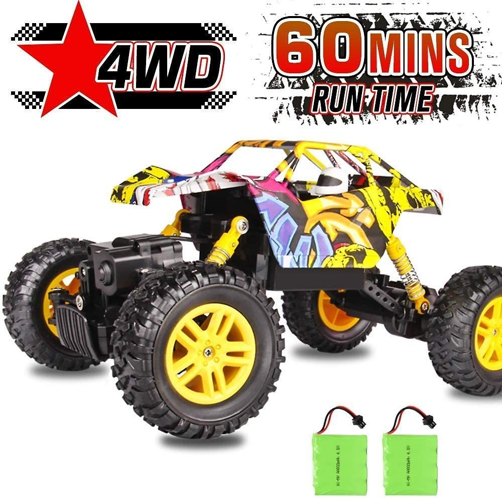 33% Discount - 4WD Remote Control Monster Truck 2.4Ghz with Two Rechargeable Batteries