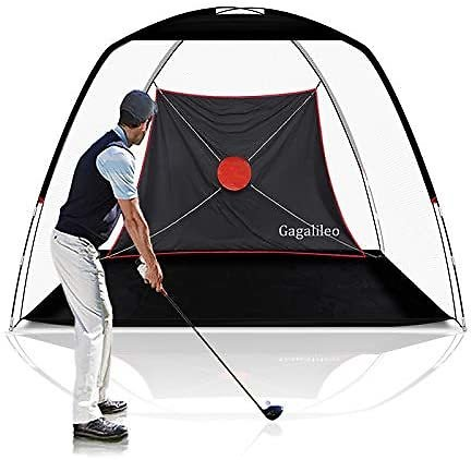 GALILEO Golf Net Golf Hitting Nets Training Aids Practice Nets for Backyard Driving Range Chipping with Target Carry Bag for Indoor Outdoor Sports