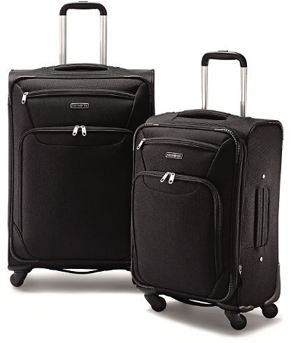 Samsonite 2 Piece Expandable Spinner Luggage Set (F/S)