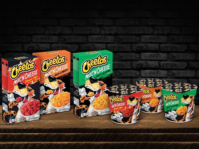 New Cheetos Mac 'n Cheese Arrives In Three Iconic Cheetos Flavors