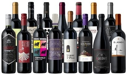 15-Pack of Ultimate Summer Reds from Splash Wines (78% Off)