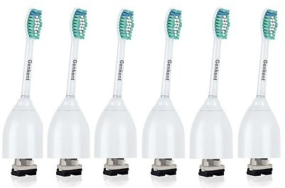 6 Packs Replacement Toothbrush Brush Heads Fit For Philips Sonicare E Series
