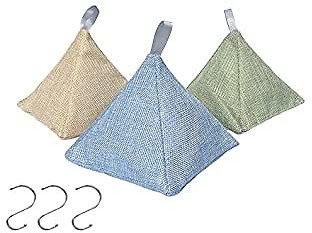 Bamboo Charcoal Air Purifying Bags Set of 3