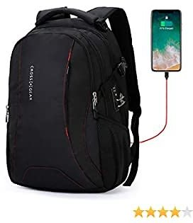 Extra Large Travel Laptop Backpack with USB Charging Port, Business Computer Bag Fit 15.6 Inch Laptops 40L