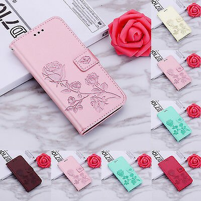 For Huawei P Smart P9 Lite 2017 Pattern Magnetic Leather Wallet Flip Case Cover