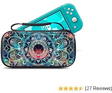 Carrying Case for Nintendo Switch Lite 2019 - Portable Travel Carry Case with Waterproof Shell Storage Case for Switch Lite Games & Accessories