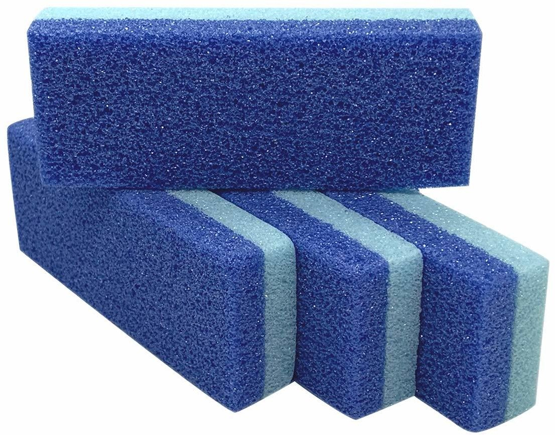 Foot Pumice Stone for Feet Hard Skin Callus Remover and Scrubber (Pack of 4)