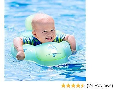 Nicewell Baby Floats for Pool, Safe Crotch Support Swimming Ring for Infant Toddlers, Size Small