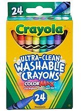 ( Starts 8/9) Crayola Ultra Clean Washable Crayons Assorted Colors