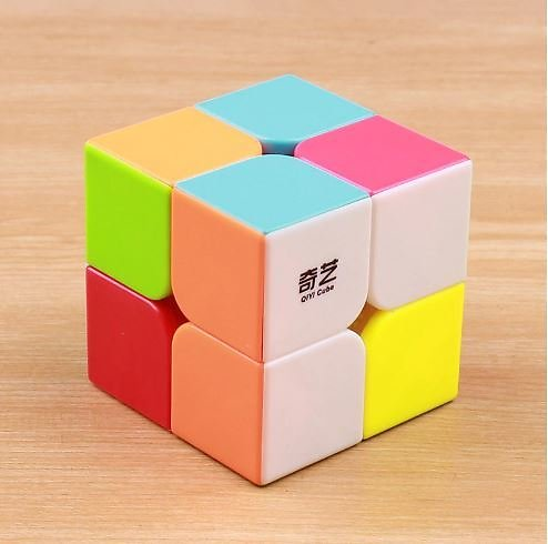 27% OFF QIYI QIDI 2X2X2 MAGIC SPEED CUBE POCKET STICKERless PUZZLE PROFESSIONAL CUBE 2x2 SPEED CUBE EDUCATIONAL Funny TOYS FOR C