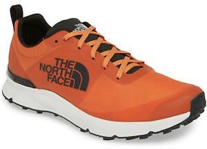 The North Face Men's 11 Milan Hiking Trail Running Shoes Breathable Orange $139