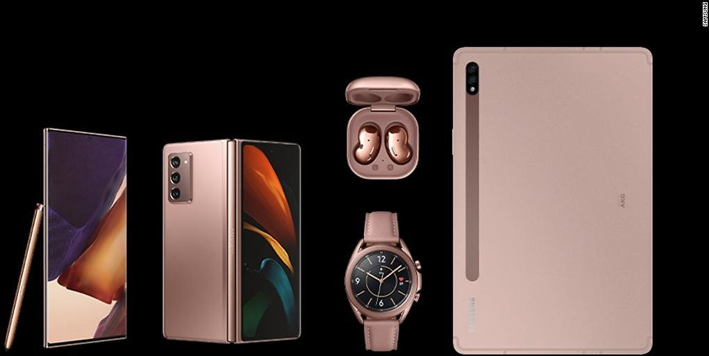 Know About Samsung's Z Fold 2, Note 20 and 20 Ultra, Galaxy Buds Live, Tab S7 and S7+, and Galaxy Watch