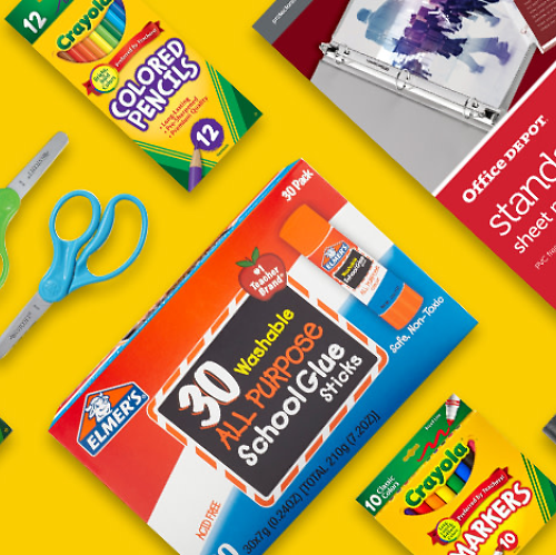 Up to 70% Off 3-Day School Supplies Flash Sale