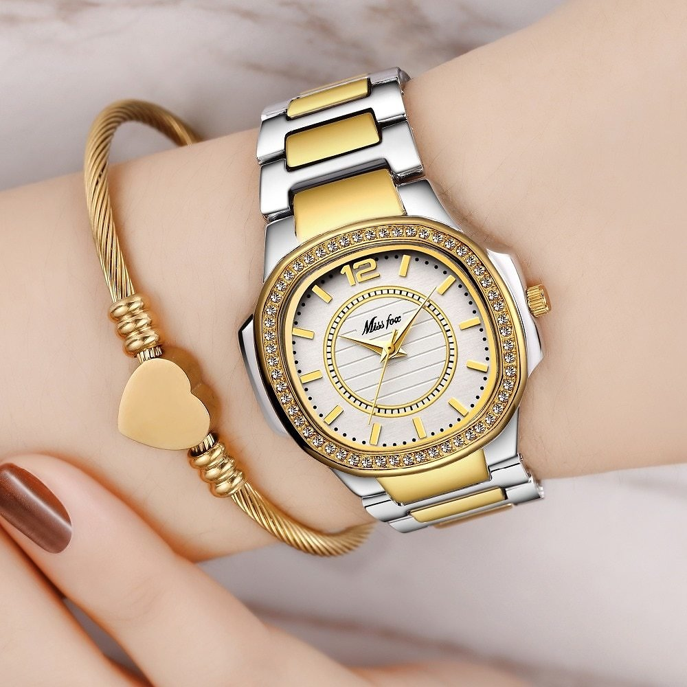 US $17.6 90% OFF|Dropshipping New 2020 Hot Selling Wrist Watches For Women Stainless Steel Gold Female Watch Diamond Wristwatch Patek Wrist Watch|Women's Watches| - AliExpress