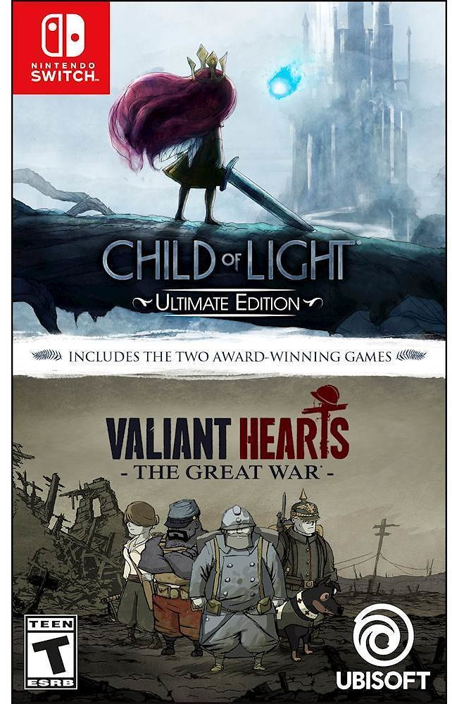 Child of Light Ultimate Edition + Valiant Hearts: The Great War Nintendo Switch UBP10902218
