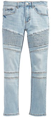 Ring of Fire Big Boys Speedy Slim-Fit Stretch Moto Jeans, Created for Macy's & Reviews - Jeans - Kids
