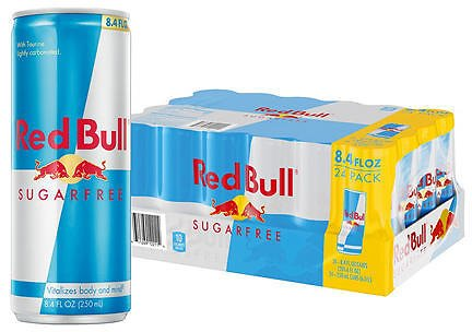 Red Bull Energy Sugarfree (8.4oz / 24pk) - Sam's Club