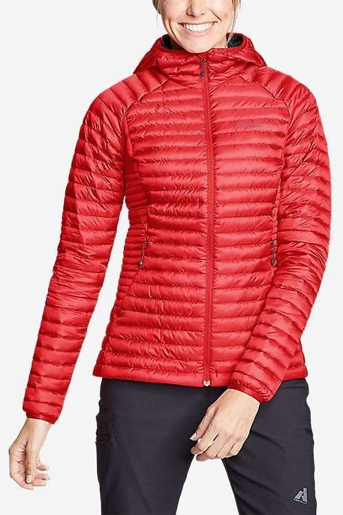 Eddie Bauer Women's Microtherm® 2.0 Down Hooded Jacket