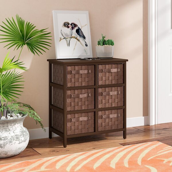 Sickles 6 Drawer Storage Chest + F/S