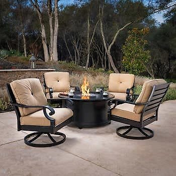 Verena 5-piece Fire Chat Set + Free Shipping