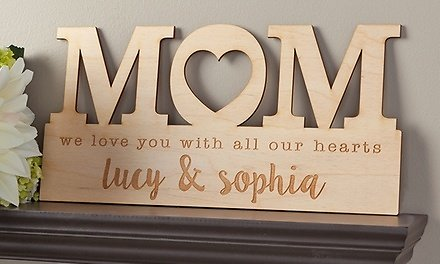 Up to 67% - One, Two, or Four Custom Home Decor Signs from Personalized Planet (Up to 67% Off)