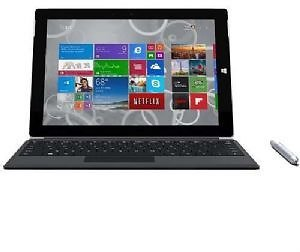 Refurbished, Microsoft Surface 3 2-in-1, Intel Atom X7-Z8700 1.6GHz, 10.8