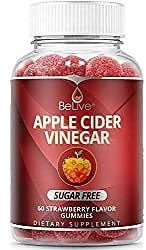 Apple Cider Vinegar Gummies - Sugar Free, Healthy Alternative with Erythritol, Melt Protection - Bloating Relief & Digestion Health for Women, Men, and Kids | 60 Gummy: Health & Personal Care
