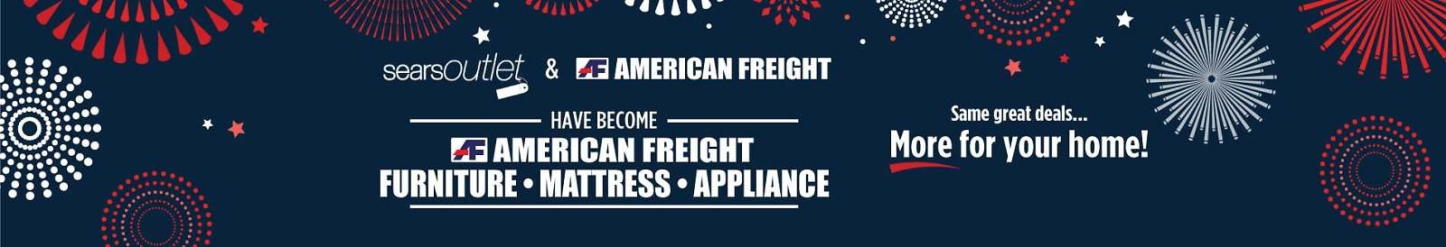 Sears Outlet and American Freight Have Become: American Freight: Furniture, Mattress, and Appliance