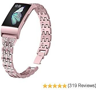 Slim Bling Bands Compatible with Fitbit