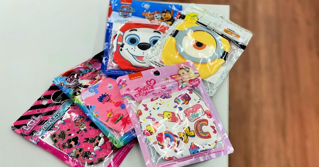 Kid Character Face Masks from $4 (In-Store)