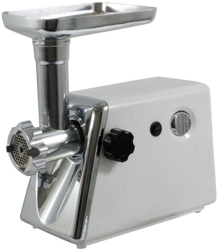 Sportsman 250 W Electric Meat Grinder with Kubbe Attachment, Food Stuffer and Sausage Tube-MEG300