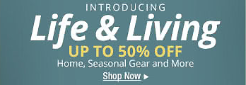 Newegg - Life & Living - Up to 50% Off - Home, Seasonal Gear and More