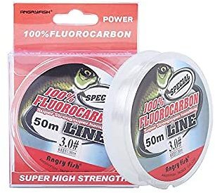 100% Fluorocarbon Fishing Line