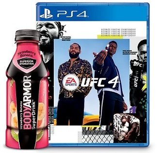 Free $10 Target Gift Card W/p UFC 4 On PS4 and Xbox One + One 16-oz. BODYARMOR Sports Drink.