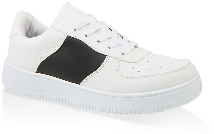 Low Top Lace Up Sneakers