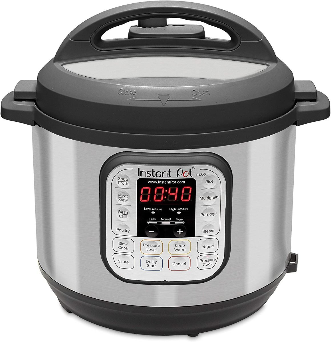 21% Discount - Instant Pot Duo 7-in-1 Electric Pressure Cooker (Sterilizer, Rice Cooker, Steamer, Saute and Warmer