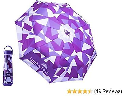 Only 5 bucks !! Windproof Umbrella with Waterproof case! 50% discount! only 5$ instead 10$. Buy now! Ending on 08/21/2020