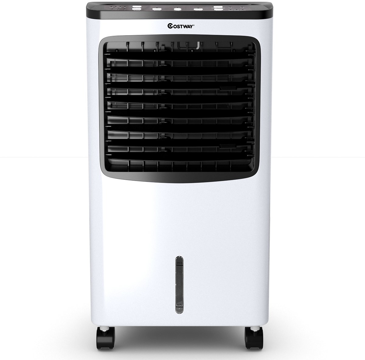 Costway Portable Air Conditioner Cooler Fan Filter Humidify Anion W/ Remote Control