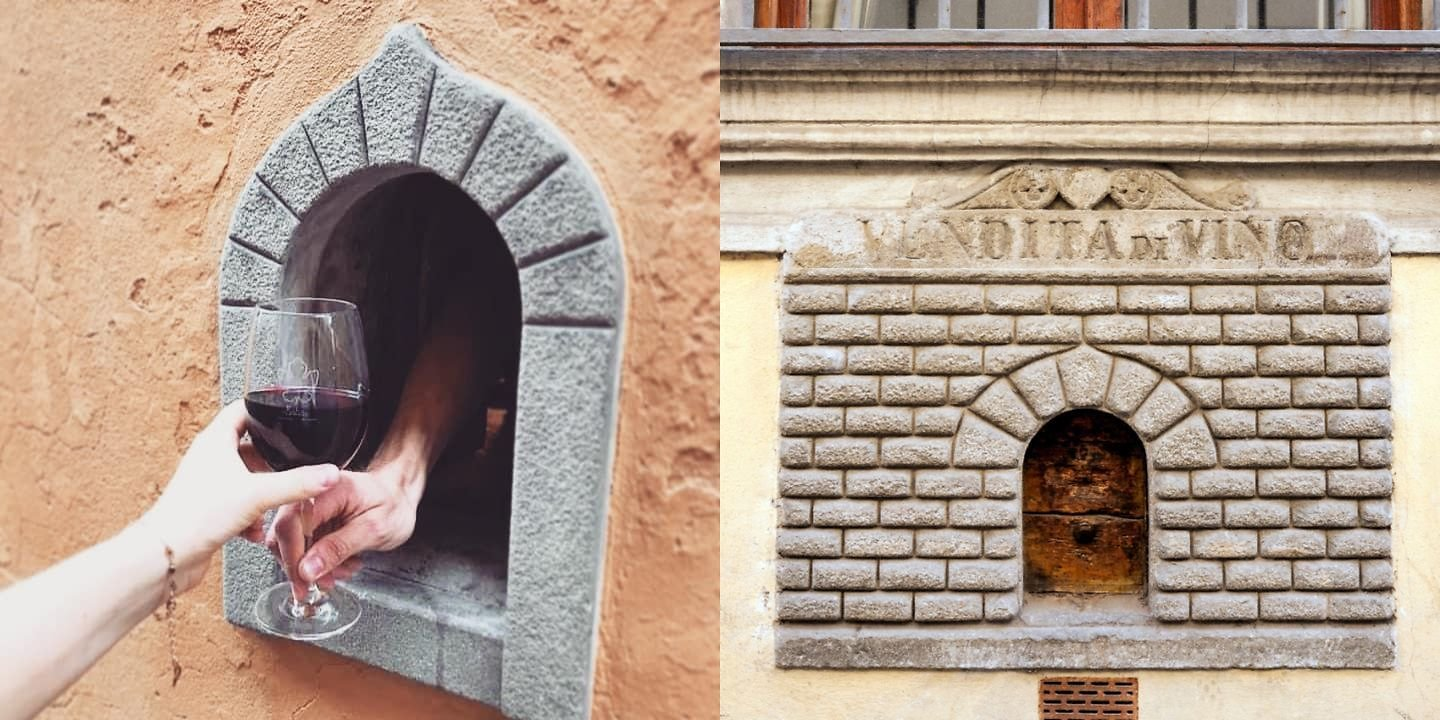 Tuscany's Wine Windows That Were Used During The Plague Are Opening Up For The First Time In Decades