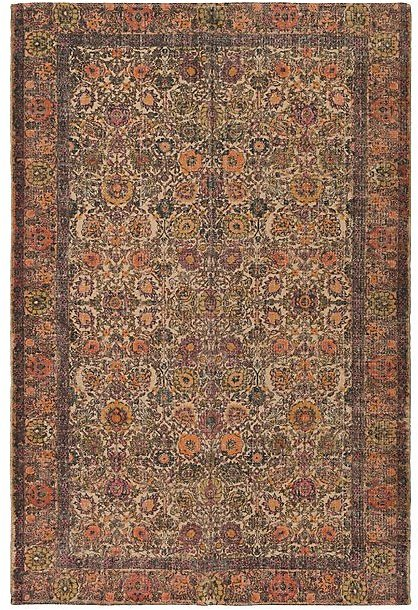 Love This Product Red & Gold Geometric Shadi Rug