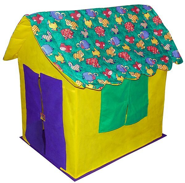 Stuffed Animal Cottage 2.5' X 3.17' Playhouse