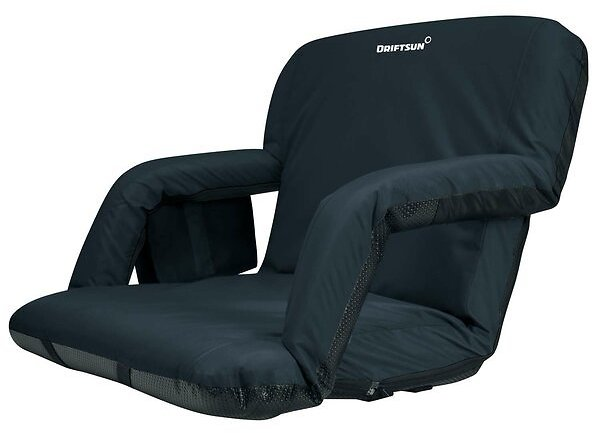 Extra Wide Deluxe Reclining Stadium Seat With Cushion