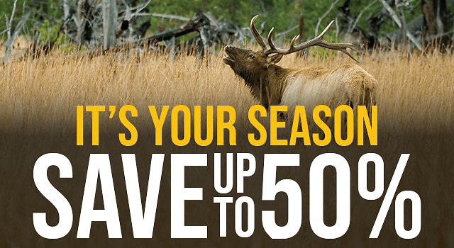 Save Up To 50% Off Fall Hunting Classic Sale