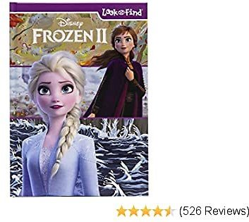 Disney - Frozen 2 Look and Find Activity Book - PI Kids