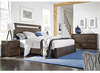 Parkside 4-piece Queen Bedroom Set + Free Shipping & Set-up